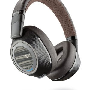 Plantronics BackBeat Pro 2 Bluetooth Headphones (Black-Brown)-0