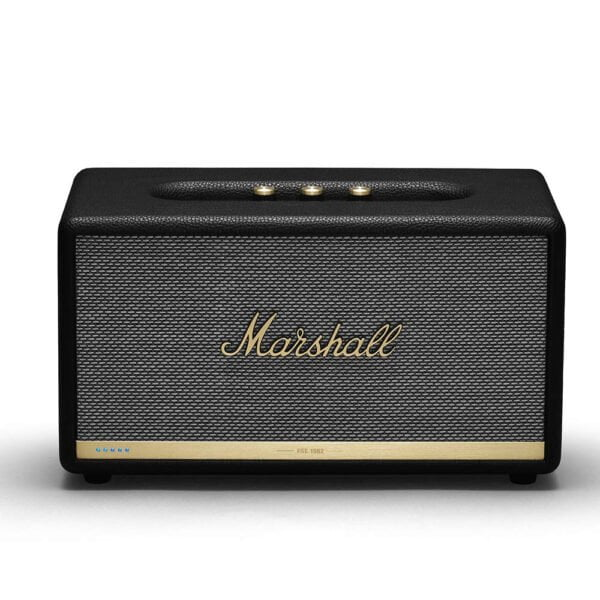 Marshall Stanmore II Wireless Wi-Fi Smart Speaker with Amazon Alexa Voice Control Built-in (Black)-0