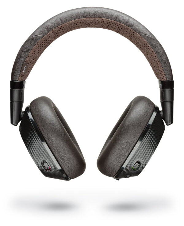 Plantronics BackBeat Pro 2 Bluetooth Headphones (Black-Brown)-8067