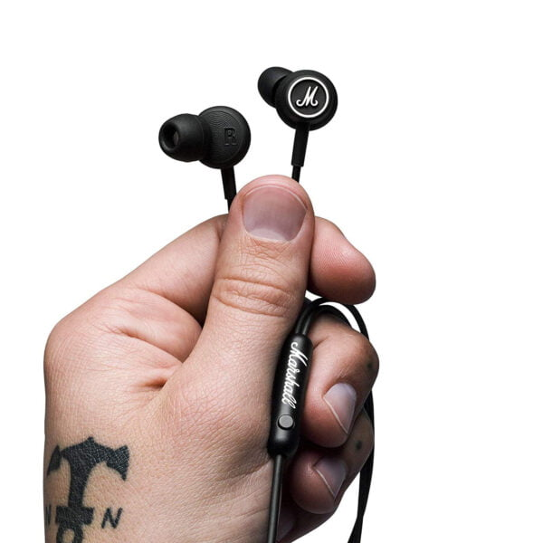 Marshall Mode In-Ear Headphones (Black)-8146