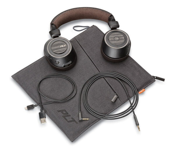 Plantronics BackBeat Pro 2 Bluetooth Headphones (Black-Brown)-8071