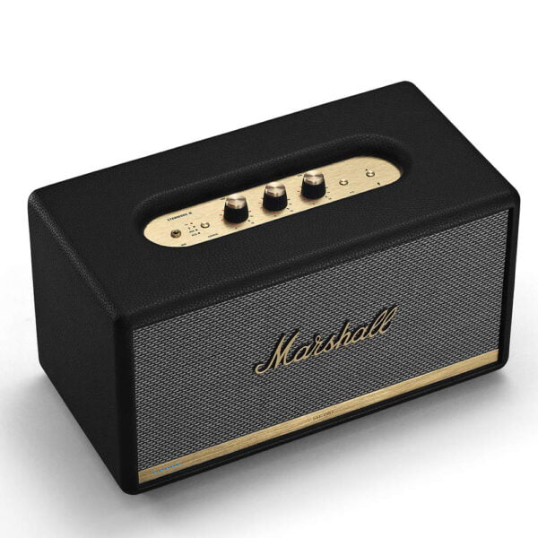 Marshall Stanmore II Wireless Wi-Fi Smart Speaker with Amazon Alexa Voice Control Built-in (Black)-8110