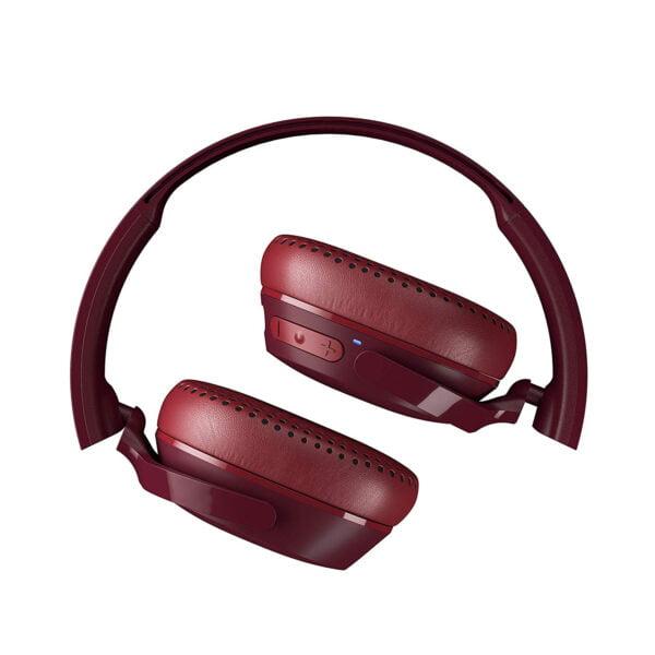 Skullcandy Riff S5PXW-M685 Wireless On-Ear Headphone (Moab/Red/Black)-8166