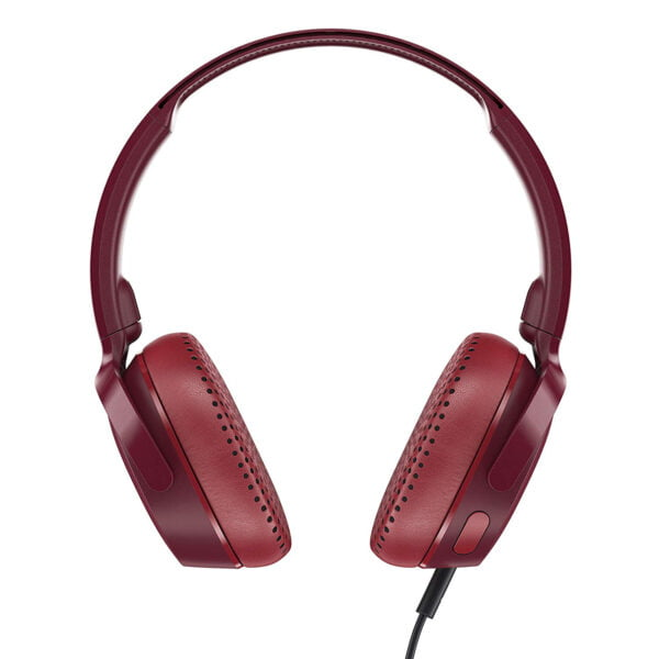 Skullcandy Riff S5PXY-M685 On-Ear Headphone with Mic (Moab/Red/Black)-8189