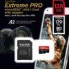 SanDisk Extreme Pro Micro Sdxctm Uhs-I Card (128GB)-8016
