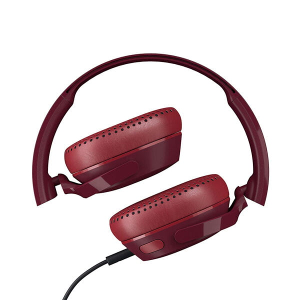 Skullcandy Riff S5PXY-M685 On-Ear Headphone with Mic (Moab/Red/Black)-8187