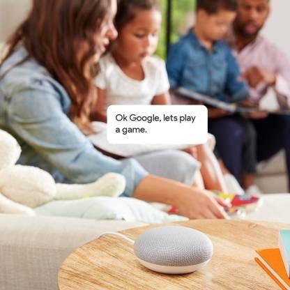 Google Home Mini (Chalk)-9769