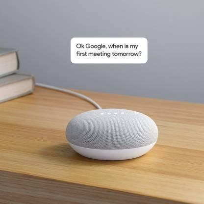 Google Home Mini (Chalk)-9768