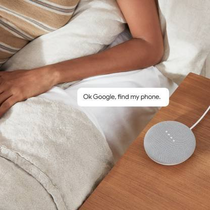 Google Home Mini (Chalk)-9771