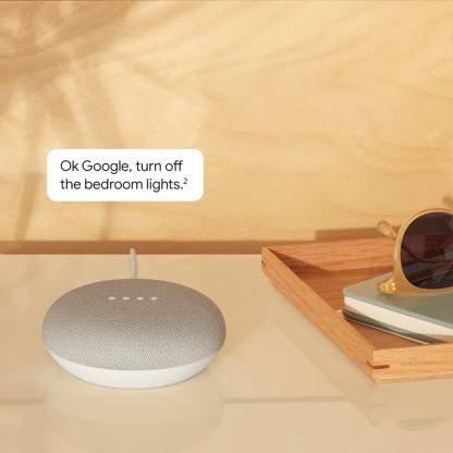 Google Home Mini (Chalk)-9772