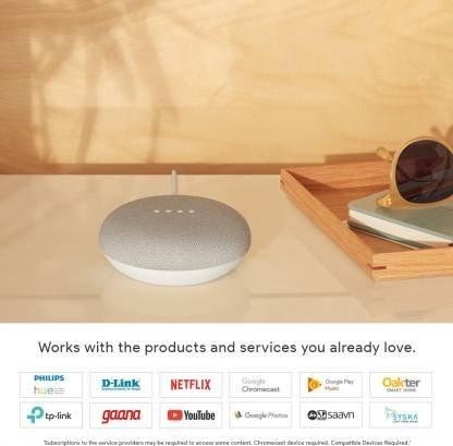 Google Home Mini (Chalk)-9773
