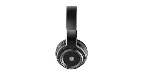 Motorola Escape 800 ANC Wireless Active Noise Cancelling Headphones (Black)-8331
