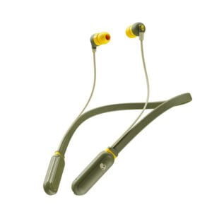 Skullcandy Inkd Plus S2IQW-M687 Wireless in-Earphone with Mic (Moss/Olive/Yellow)-0