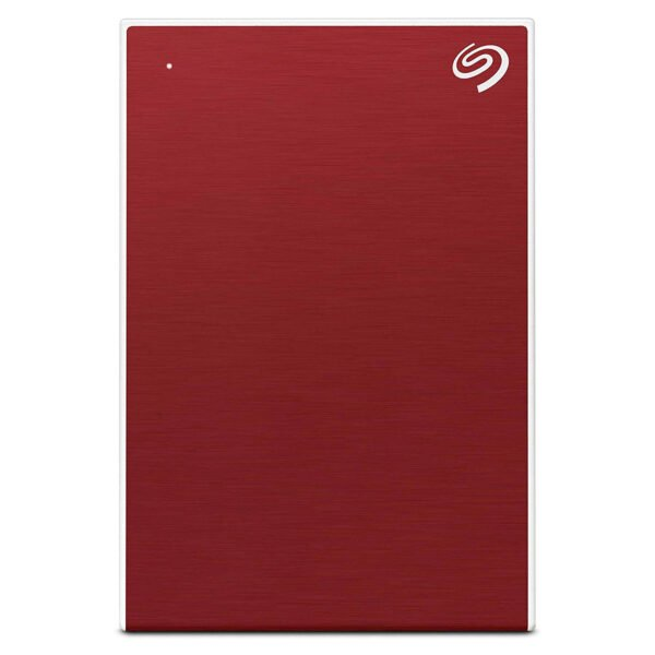 Seagate 2TB Backup Plus Slim USB 3.0 External Hard Drive for PC/Mac (Red) -0