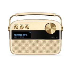 Saregama Carvaan Portable Digital Music Player (Champagne Gold) - Sound by Harman/Kardon-0