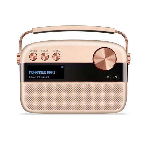 Saregama Carvaan Portable Digital Music Player (Rose Gold) - Sound by Harman/Kardon-0