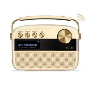 Saregama Carvaan 2.0 Portable Digital Music Player (Champagne Gold) - Sound by Harman/Kardon-0