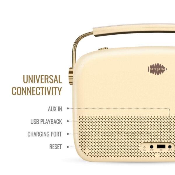 Saregama Carvaan 2.0 Portable Digital Music Player (Champagne Gold) - Sound by Harman/Kardon-8523