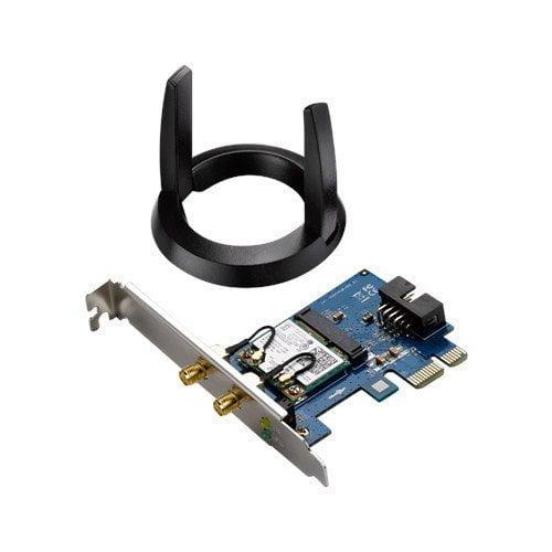 ASUS 802.11ac Wireless-AC1200 Bluetooth 4.0 PCIe/mPCIe Adapter (PCE-AC55BT)-0