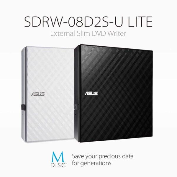 ASUS External Slim DVD-RW-8597