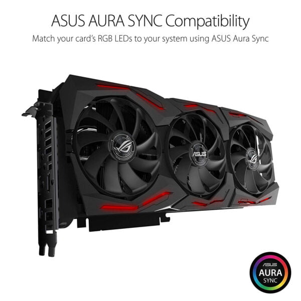Asus ROG Strix GeForce RTX™ 2080 Ti OC edition 11GB GDDR6 with enthusiast-level technology for extreme 4K and VR gaming-8587