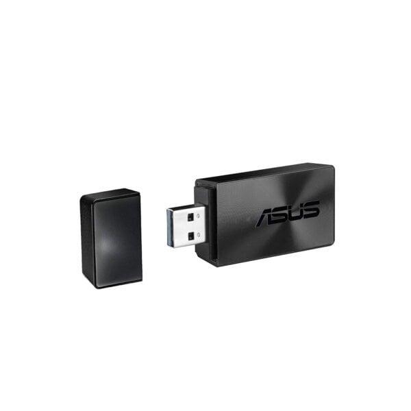 ASUS USB-AC55 B1 AC1300 Dual Band Wireless USB Adapter (Black)-0