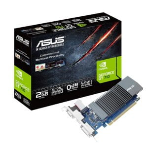 ASUS GeForce GT 710 2GB GDDR5 HDMI VGA DVI Graphics Card Graphic Cards (DDR5 Supports DDR3)-0