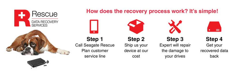 Seagate Data Recovery Services, SRS, Data Recovery Plan