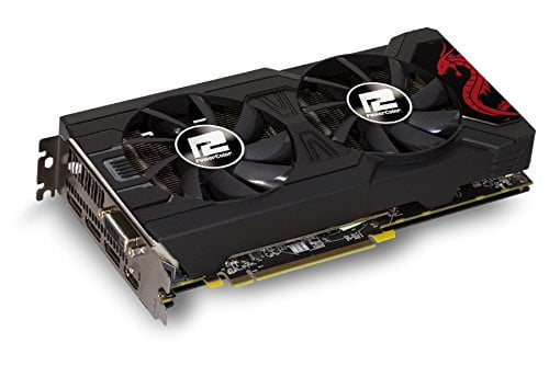 PowerColor Red Dragon Radeon RX 570 AXRX 570 4GBD5-3DHD/OC-8831