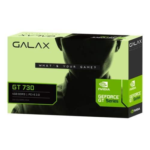 GALAX GEFORCE GT 730 4GB DDR3-64-bit HDMI/DVI/VGA-0
