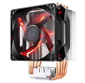 Cooler Master Hyper H410R (RR-H410-20PK-R1) 120mm RED LED Air CPU Cooler Intel/AMD Support-0