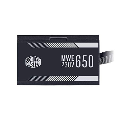 Cooler Master MWE 650W,80+ White 230V A/UK Cable Power Supply-8960