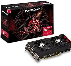 PowerColor Red Dragon Radeon™ RX 570 8GB GDDR5 - AXRX 570 8GBD5-3DHD/OC-0
