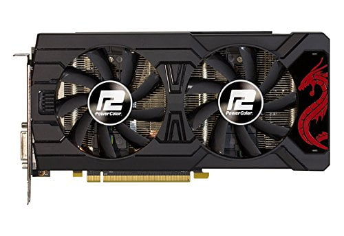 PowerColor Red Dragon Radeon RX 570 AXRX 570 4GBD5-3DHD/OC-8830