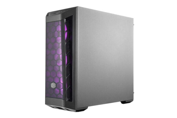 Cooler Master Box MB511 RGB Steel/Plastic/Tempered Glass ATX Mid Tower Computer Case Cabinet (Black)-9002