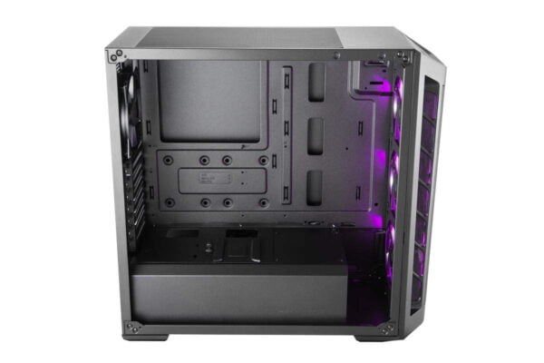 Cooler Master Box MB511 RGB Steel/Plastic/Tempered Glass ATX Mid Tower Computer Case Cabinet (Black)-9009