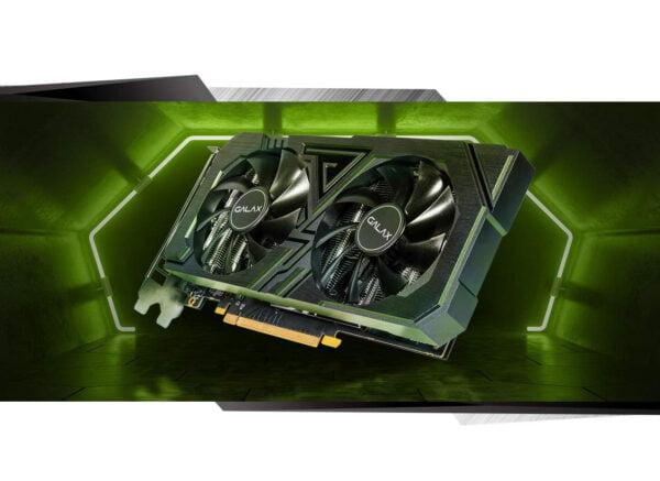 GALAX GeForce® RTX 2060 EX (1-Click OC) 6GB GDDR6 192-bit DP/HDMI/DVI-D Graphic Card-8871