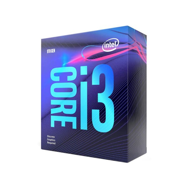 Intel Core i3-9100F 9th Gen Desktop Processor 4 Core Up to 4.2 GHz LGA1151 300 Series 65W (Discrete Graphics Required)-8750