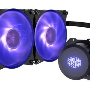 Cooler Master MasterLiquid ML240L RGB All-in-one Liquid CPU Cooler with Dual Chamber Pump Latest Intel/AMD Support-0