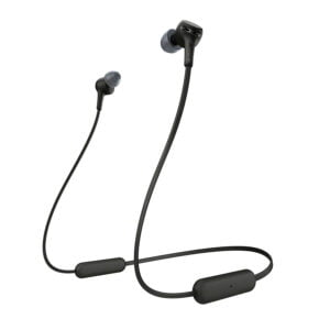 Sony WI-XB400 Wireless in-Ear Extra Bass Headphones with Neck-Band Design - Black(100% Untouched,New with Warranty) (Packing Damage)-0