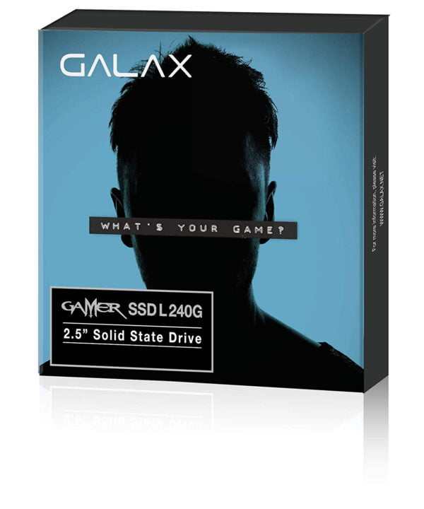 GALAX Gamer SSD L 240GB SATA III/6Gbps 2.5 Inches Solid State Drive-0