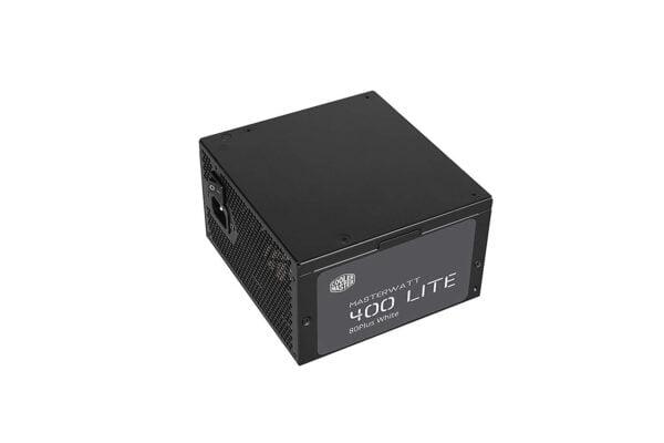 Cooler Master MasterWatt Lite 400 230V PSU 'Non-Modular, 80 Plus White, 400W-8967