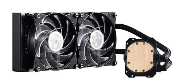Cooler Master MasterLiquid ML240L RGB All-in-one Liquid CPU Cooler with Dual Chamber Pump Latest Intel/AMD Support-9082