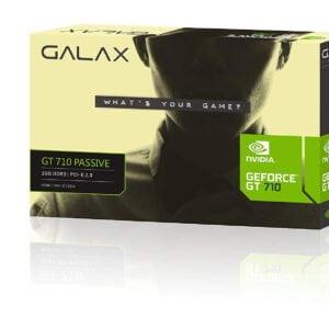 GALAX GeForce GT 710 PASSIVE 2GB 2GB 64-bit GDDR3 - DVI-D, HDMI, VGA-0