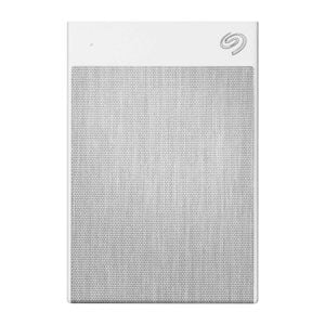 Seagate Backup Plus Ultra Touch 2 TB External Hard Drive Portable HDD – White USB-C USB 3.0, 1yr Mylio Create, 2 Months Adobe CC Photography - White-0
