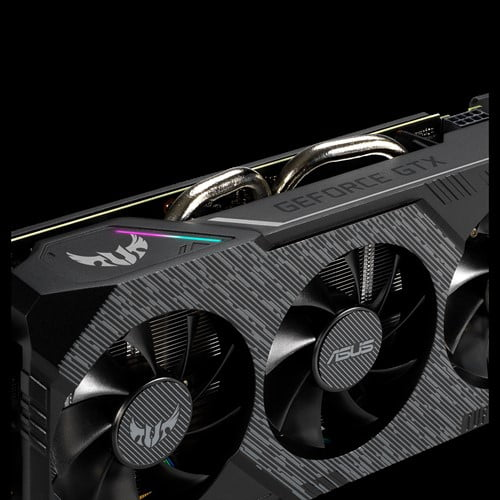 ASUS TUF Gaming X3 GeForce® GTX 1660 Ti OC edition 6GB GDDR6 rocks high refresh rates for an FPS advantage without breaking a sweat.-9249