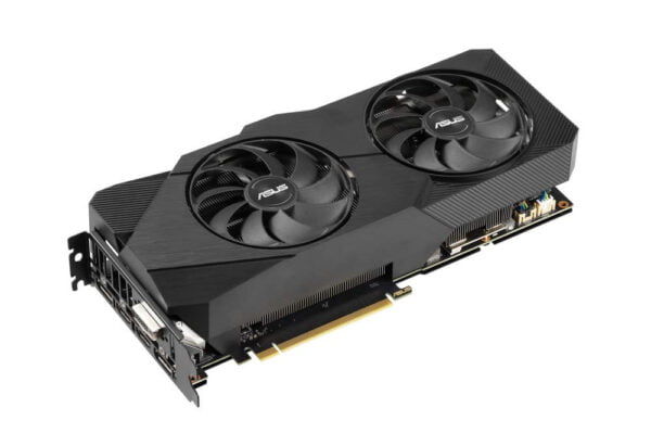 ASUS GEFORCE RTX 2060 SUPER™ EVO Advanced edition 8GB GDDR6 with two powerful Axial-tech fans for AAA gaming performance and ray tracing-9206