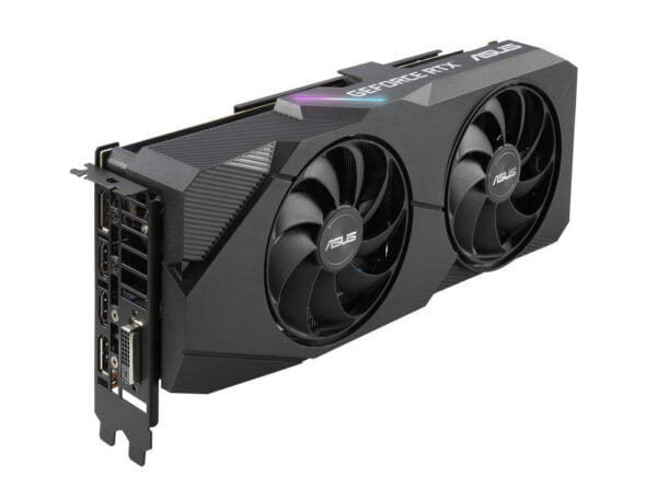 ASUS GEFORCE RTX 2060 SUPER™ EVO Advanced edition 8GB GDDR6 with two powerful Axial-tech fans for AAA gaming performance and ray tracing-9202