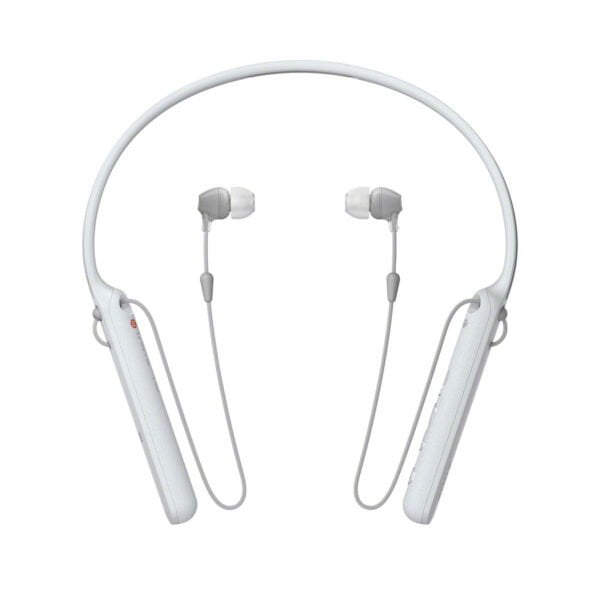 Sony C400 Wireless Behind-Neck in Ear Headphone White (WIC400/W) (100% New and Original)(Packing Damage Only)-0