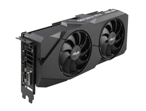 ASUS GEFORCE RTX 2060 SUPER™ EVO Advanced edition 8GB GDDR6 with two powerful Axial-tech fans for AAA gaming performance and ray tracing-9204